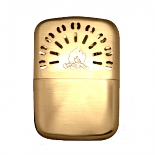 Refillable Pocket Warmer PW-51 Gold